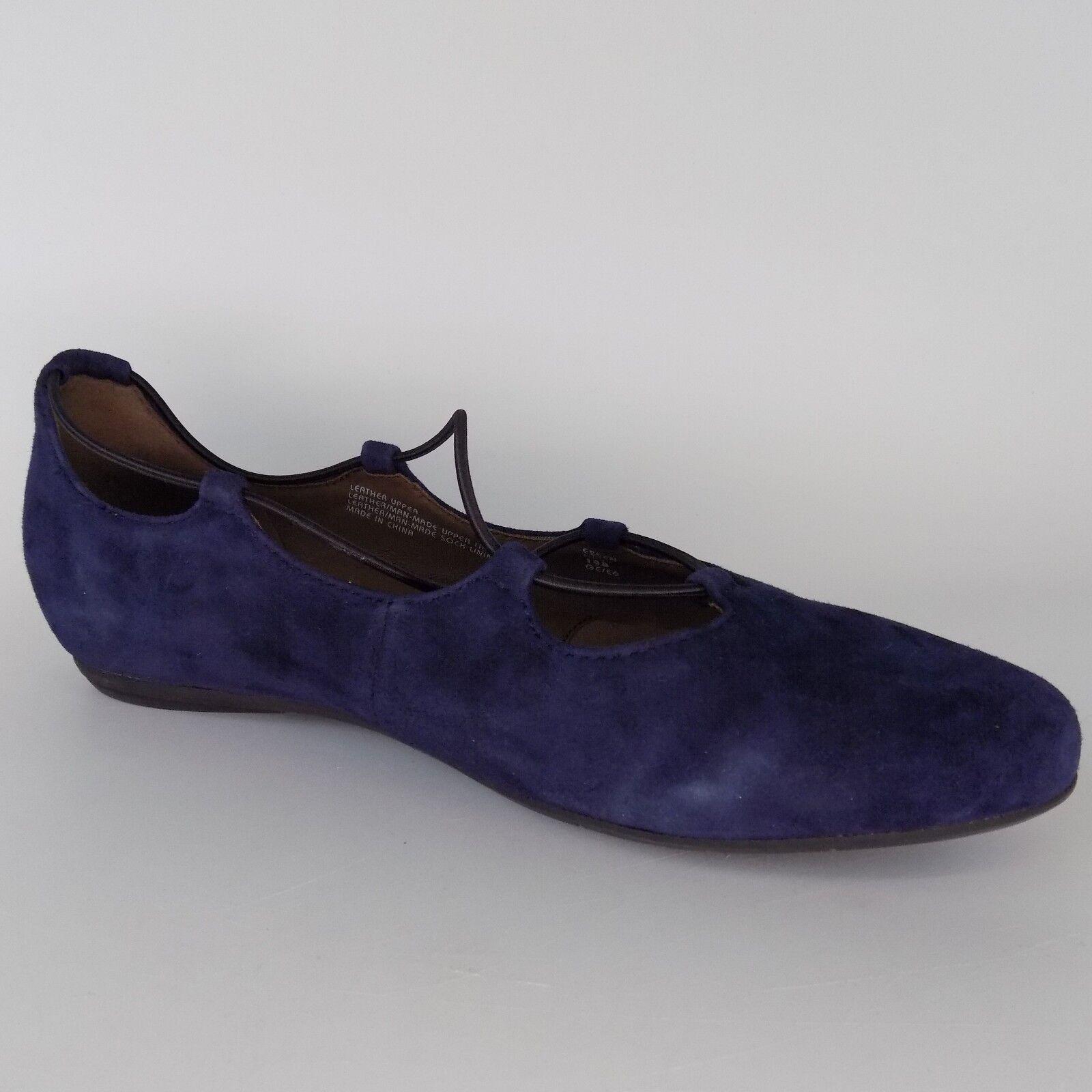 Earthies Essen Slip On Casual Comfort Navy Women shoes Size 10 B AL2388