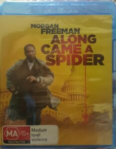 New-amp-Sealed-Along-Came-A-Spider-Blu-Ray-Movie-Region-B-AUS-Thriller