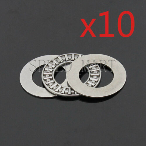 10 PCS NTA1423 Thrust Needle Roller Bearing With Two Washers 22.22 x 36.5mm