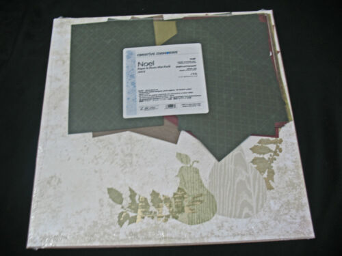 Creative Memories Paper /& Photo Mat Pack Noel 12x12