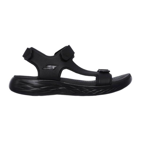 innovative design 9da69 0abc2 55366-BBK Skechers Sandals – On The Go 600-Venture  black 2018 Men Textile Nuevo