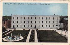 JEFFERSON CITY MISSOURI STATE PENITENTIARY~DINING HALL & GROUNDS POSTCARD 1916