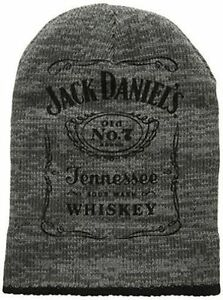3f1ccb21845 Jack Daniels Classic Logo Old No 7 Official Grey Chunky Knitted ...