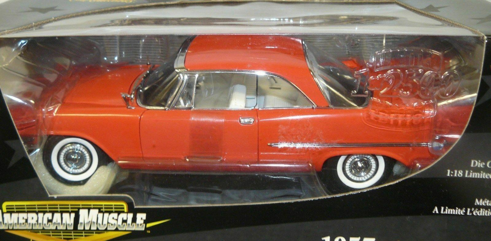 1 18 red 1957 Chrysler 300 , 1 of 2500
