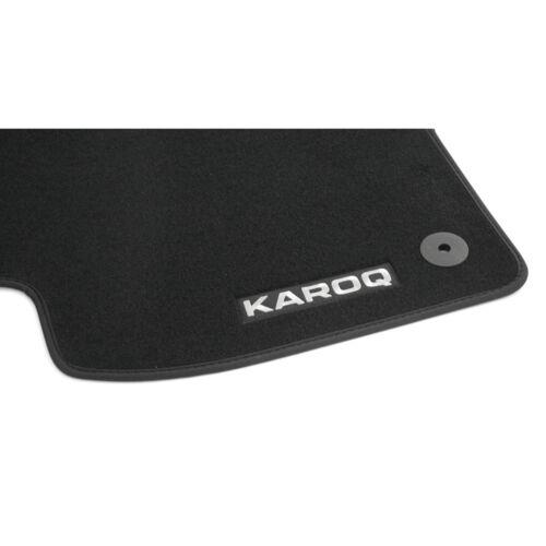 Original Skoda Karoq Prestige Textil Fußmatten Satz 4-teilig 57B061270 OEM