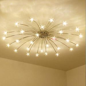 Modern meteor glass dandelion led chandelier pendant lamp ceiling image is loading modern meteor glass dandelion led chandelier pendant lamp aloadofball Image collections