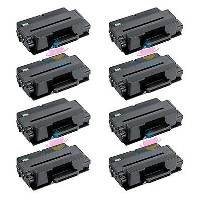 Set of 8 MLT-D203E High Yield Black Toner for Samsung SL-M4020ND SL-M4070FR