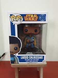Funko-Pop-Star-Wars-LANDO-CALRISSIAN-Blue-Box-Vaulted-w-Pop-Protector