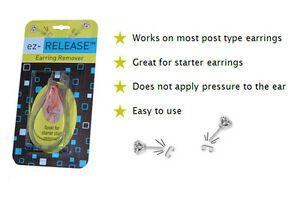 The Ez Release Earring Remover For Regular Ear Stud Earrings