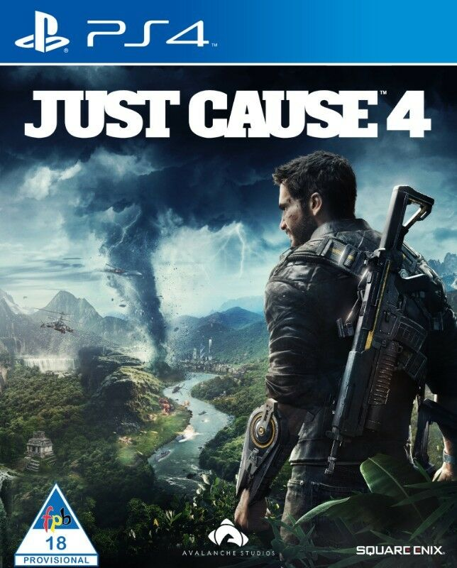 PS4 Just Cause 4 (brand new)