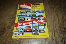 Auto Modelle Katalog 1974