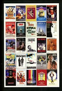 Advertising-postcard-Posters-amp-Things-Inc-Mountianhome-PA-movies-music-bands