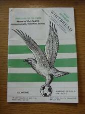 01/04/1991 Les Phillips Cup Semi-Final: Elmore v Mangotsfield United  (creased,