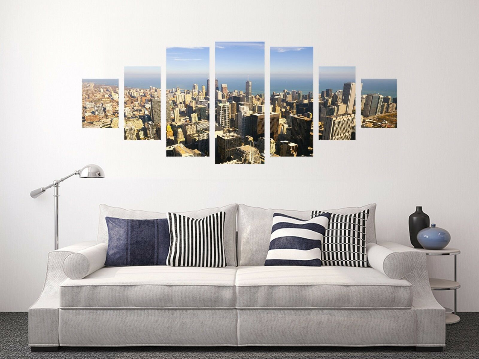 3D Building Street 72 Unframed Print Wall Paper Decal Wall Deco Indoor AJ Jenny