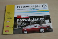 126452) Mazda 6 - Pressespiegel - Prospekt 01/2008