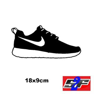 Sticker Placard Nike Chaussure Décoration Murale Basket Sneakers SMUVqzp