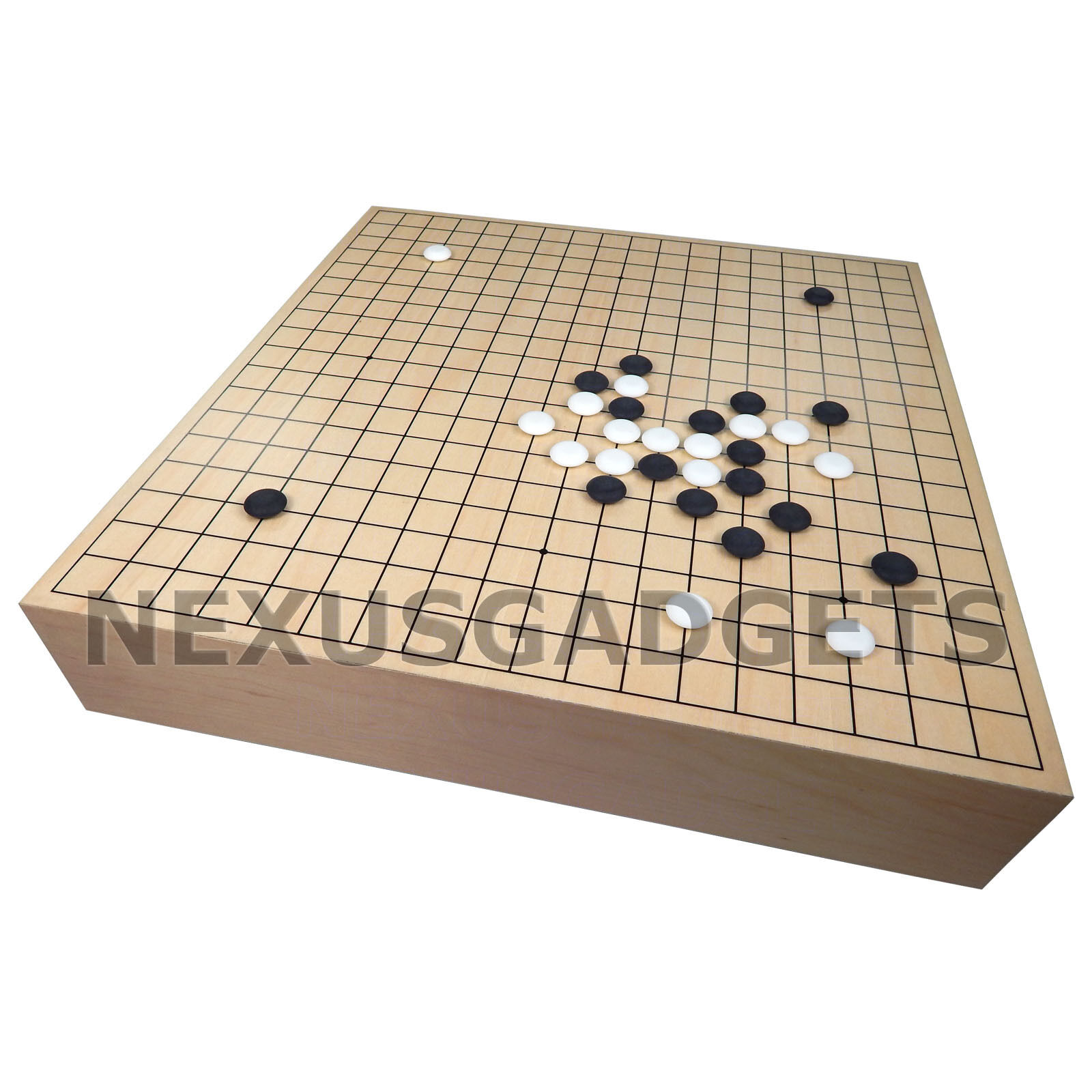 Kira 18 INCH TOURNAMENT Spec Large Maple Wood GO Game Lift Up Wooden Set