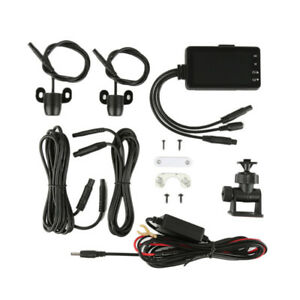 """Motorcycle DVR Dash Cam 3"""" LCD 720P & 480P Dual-track Dual Action Camera Video"""