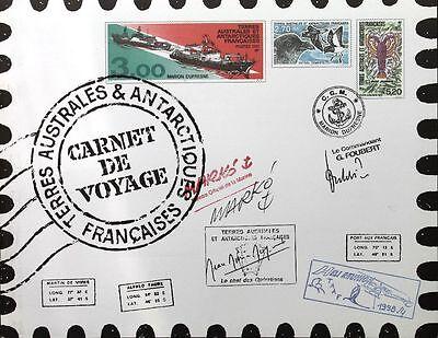 Australien, Ozean. & Antarktis Briefmarken Taaf Fsat 1999 Mh 400-11 Tourismus Fauna Flora Paintings By Markó Ships Mnh Weich Und Leicht