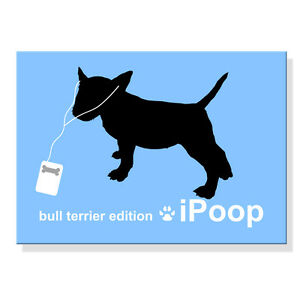 Tool  Box  Magnet #5 Funny Dog Pit Bull Terrier Sniff It Refrigerator