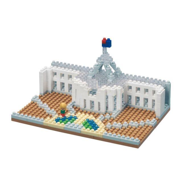 nanoblock - Australian Parliament House - nano blocks by Kawada (NBH-156)