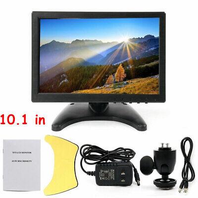 10.1 Inch TFT Color LCD Monitor Screen AV VGA BNC HDMI For PC CCTV Security Cam