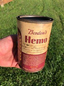 Borden's Hemo Vintage Vitamin Drink Vintage Can