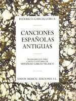 Canciones Espanolas Antiguas Voice And Guitar 014012428