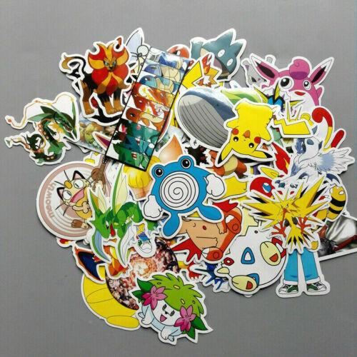 Lots Random Vinyl Laptop Skateboard Stickers bomb Luggage Decals Wall Sticker