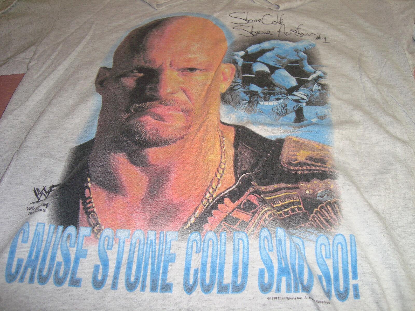 Stone Cold..Steve -Austin ..Cause Stone Cold Said So ....1998..L
