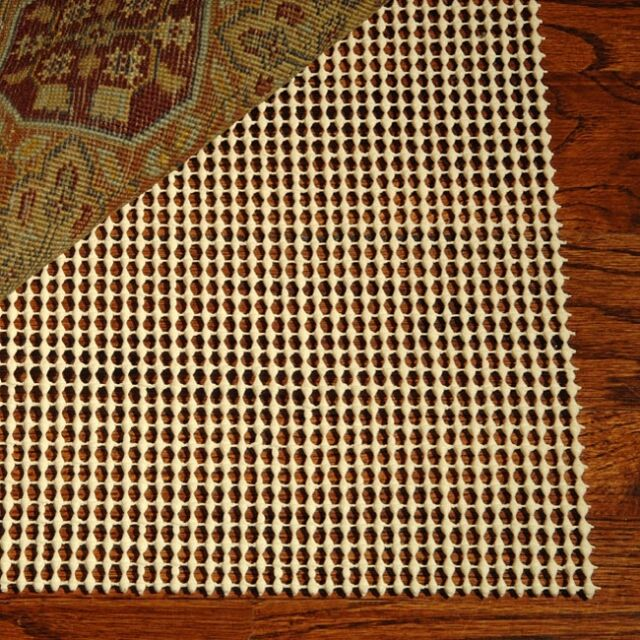 What Size Rug Pad For 8x10 Rug.Area Rug Pad 8x10 Non Skid Slip Underlay Nonslip Pads Actual Size 7 9 X 10