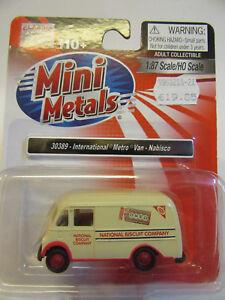 Classic-Metal-Works-Ee-uu-1-87-International-Metro-Van-Nabisco-Oero