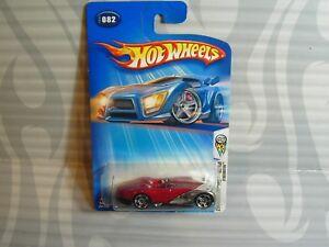 Modellbau Auto- & Verkehrsmodelle 0715 FäHig 2004 Hot Wheels ''erste Editionen'' #082 =xtreemster= Weinrot & Chrom