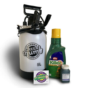 ORTHO Killex Lawn Weed Control 1L Concentrate & 5L Sprayer