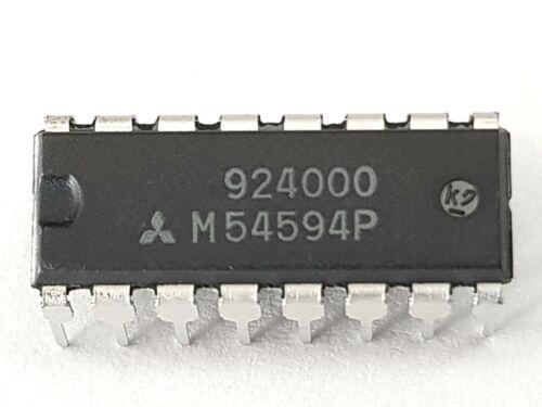 2x M54594P-Mitsubishi IC-circuit intégré-M54594 P-NOS