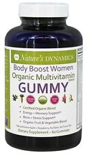 Nature's Dynamics - Body Boost Women Organic Multivitamin Whole Food Gummy Green