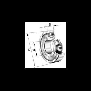 Cuscinetto a sfere 17x35x10 6003-2Z-C3 FAG