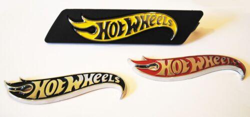 ZL-1 Hot Wheel Edition Emblem Set Grille Fender Trunk Chrome For Chevy Camaro