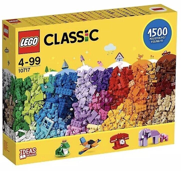 - Nuovo di Zecca LEGO CLASSIC 10717 Massiccia 1,500 pezzi mattoni, mattoni, mattoni Set