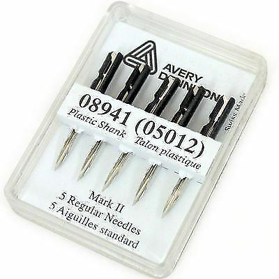 10 agujas de pistola de Etiquetado Mark II regular por Avery Dennison