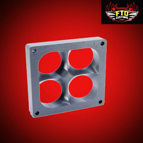 4500 Dominator 1 inch CNC 3D Carburetor Spacer  adds 6 to 80 Horsepower