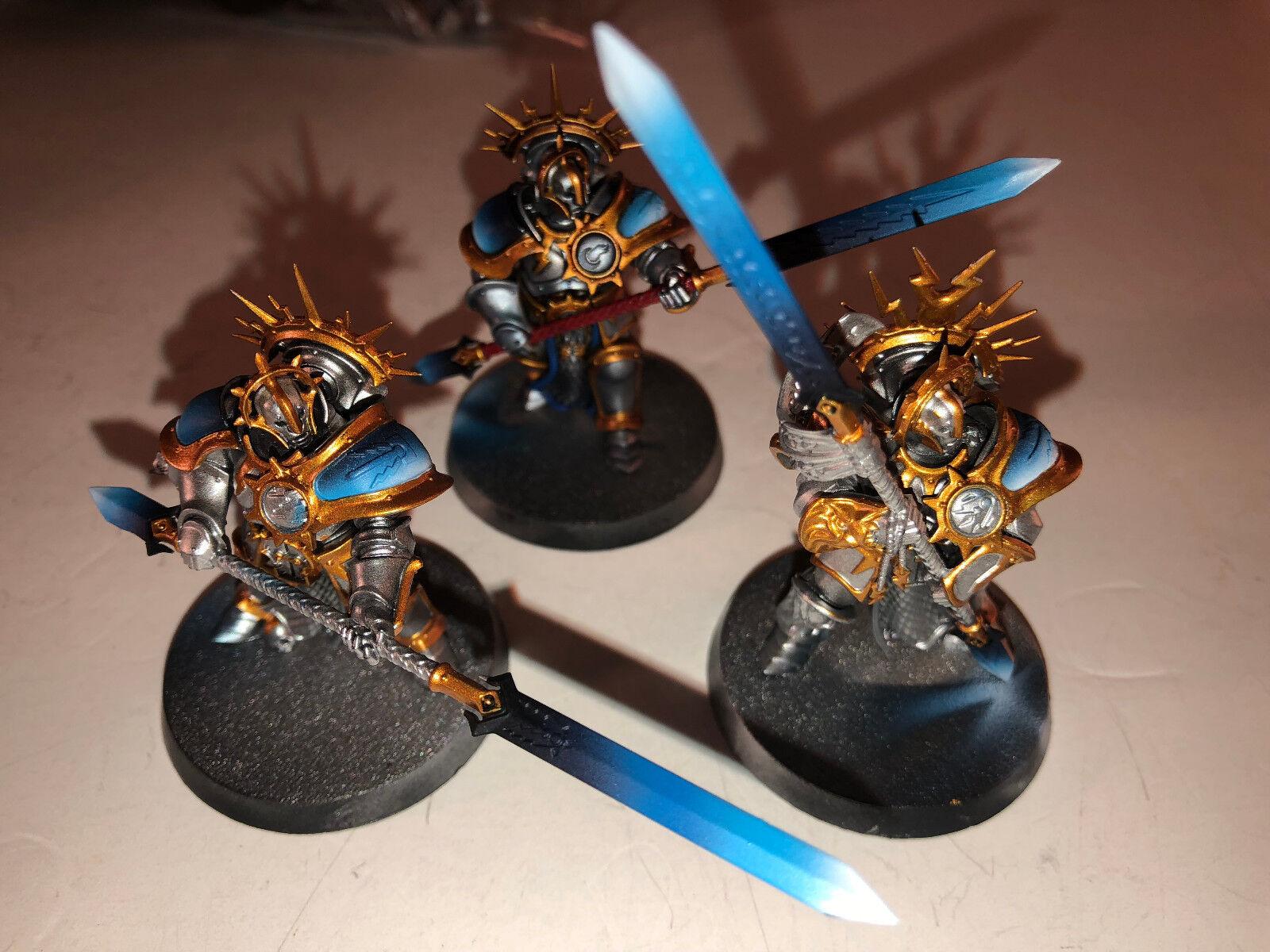 Warhammer Age of Sigmar Stormcast Eternals Predectors x3 paint 7.5 10 102318 A