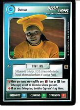 STAR TREK CCG THE FAJO COLLECTION, GUINAN RARE CARD