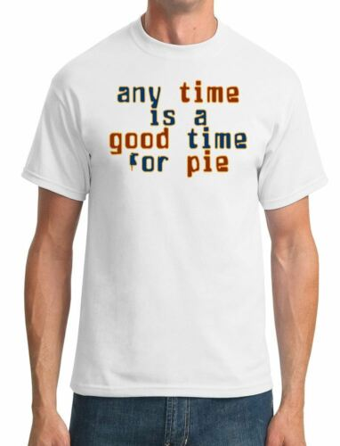 any time is a good time for pie Pulp Fiction Mens T-Shirt