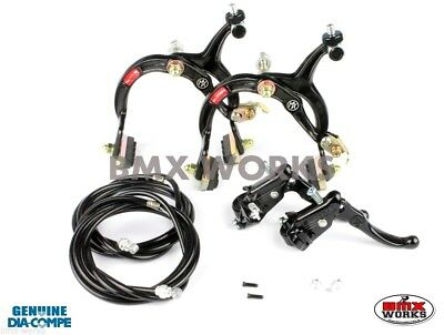 Dia-Compe MX1000 Old Vintage School BMX MX120 Gold /& Black Brake Set