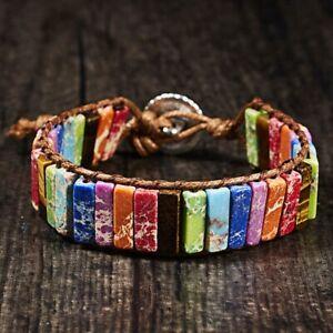 7-Chakra-Naturstein-Armband-Armreif-Perlen-handgefertigt-fuer-Frauen-8-Designs