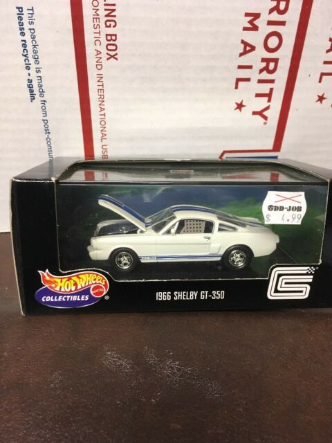 hot wheels collectibles muscle car series 1 1966 shelby gt350 1/43