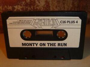 MONTY-ON-THE-RUN-Commodore-C16-C16-4-Spiel-GREMLIN-1986