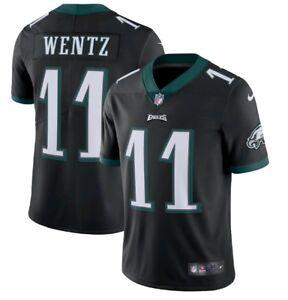 reputable site 9ef2d d120e Details about Men's Philadelphia Eagles Carson Wentz Nike Black Vapor  Untouchable LTD -FWW06
