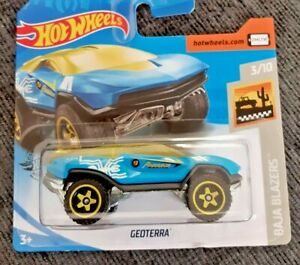 Mattel-Hot-Wheels-geoterra-Nuevo-Sellado